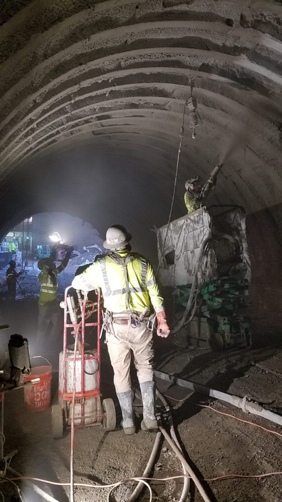 Tunnel And Culvert Shotcrete Linings Ccp Shotcrete Pumping